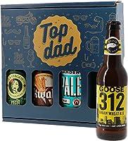 Un pack de 4 bières exceptionnelles à offrir pour la fête des pères ! Le cadeau idéal pour tous les papas amateurs de bonne bière. Il regroupe des bières aux styles variés (IPA, Pale Ale, Wheat Beer). Uniques, ces bières proviennent d'Espagne, d'Angl...