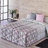 Confecciones Paula - Edredón conforter NERJA - Cama 90 Cm - Color Lila