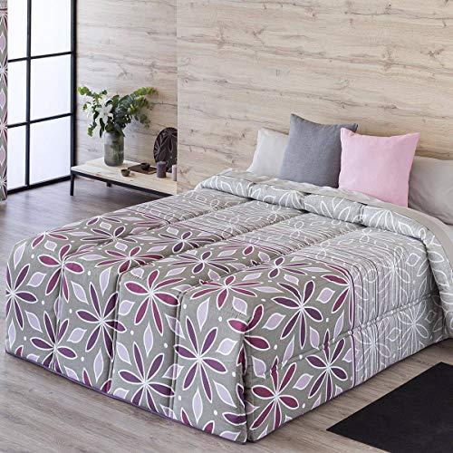 Confecciones Paula - Edredón conforter NERJA - Cama 135Cm - Color Lila