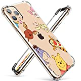 Coralogo for iPhone 12 Pro Max TPU Case, Cute Cartoon Funny Kawaii Design, Fashion Fun Cool Stylish Designer Character Soft Cover, Women Girls Boys Men Cases for iPhone 12 Pro Max 6.7' (Winnie Pooh