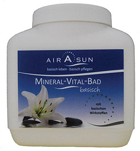 Basenbad Mineral Vital Bad 1200 g - mit Calcium und Magnesium-Citraten