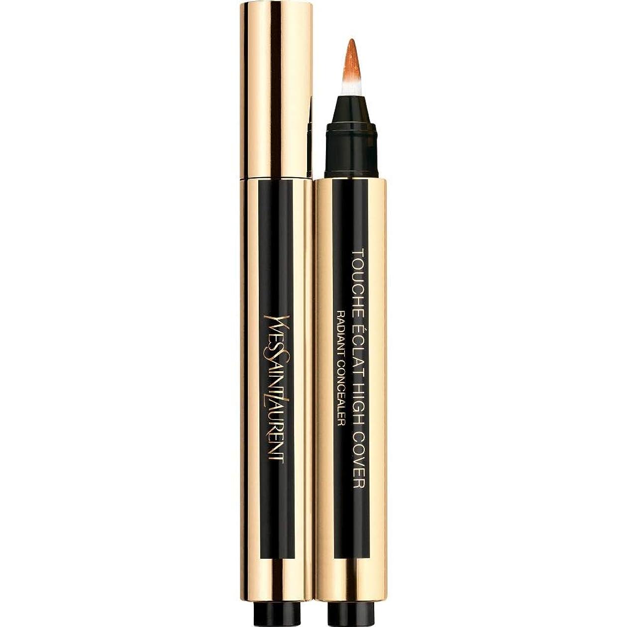 パニック裏切る最も[Yves Saint Laurent] 6.5 2.5ミリリットルイヴ?サンローランのトウシュエクラ高いカバー放射コンシーラーペン - ヘーゼルナッツ - Yves Saint Laurent Touche Eclat High Cover Radiant Concealer Pen 2.5ml 6.5 - Hazelnut [並行輸入品]