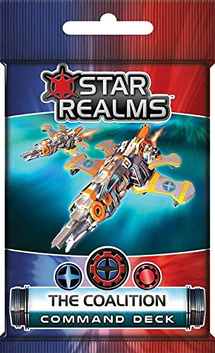 White Wizard Games Star Realms: The Coalition Command Deck