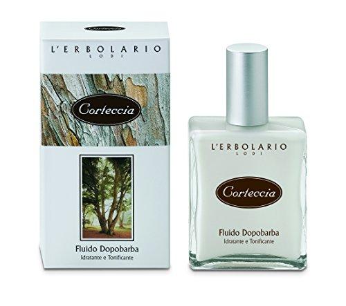 LErbolario Boomschors Aftershave Fluid, per stuk verpakt (1 x 100 ml)
