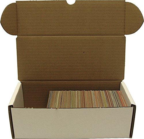 BCW 500 count Storage Box - Corrugated Cardboard Storage Box - Baseball, Football, Basketball and Hockey cards