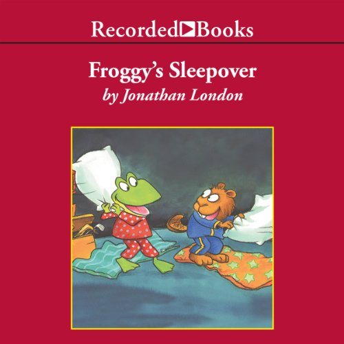 Froggy's Sleepover audiobook cover art