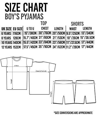Minecraft Creeper TNT Boy/'s Pyjamas UK Sizes 6 to 14 Years