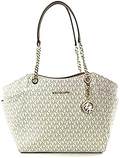 278f03092306 Michael Kors Women's Jet Set Travel - Large Chain Shoulder Tote