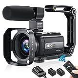 4K Video Camera Camcorder, YouTube Camera...