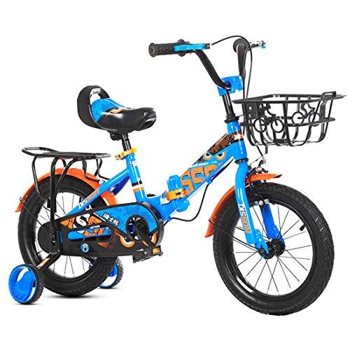 MYMGG Bicicleta Infantil para niños y niñas a Partir de 3 años...
