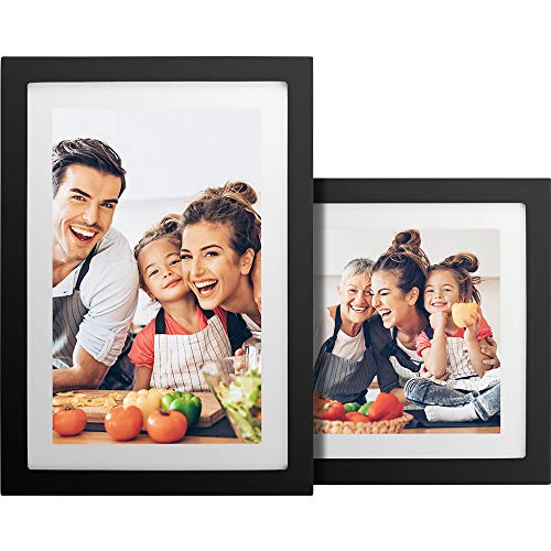 No Monthly Fee 10 inch Touch Screen WiFi Digital Picture Frame with 1080x800 IPS Screen, 16GB Storage Included, Auto-Rotate, Digital Photo Frame Share Photos via App, Email