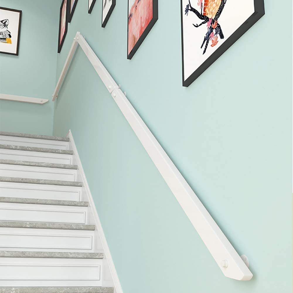 wholesale WQSQ Wall Mounted Handrail Cheap bargain for with Wood Kit Stairs Installation