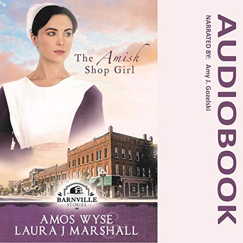 The Amish Shop Girl audiobook cover art