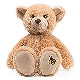 Schaffer Knuddel mich!- Teddy Honey Oso de Peluche, Color marrón, 18 cm (Rudolf Schaffer Collection 5660)