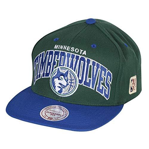 Mitchell & Ness Snapback Cap Team Arch HWC Milwaukee Bucks Black/Green