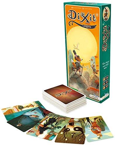 Asmodee- Dixit 4 Origins Gioco da Tavolo Edizione Italiana, Colore, 8009