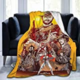Clint Eastwood Super Soft Blankets Anti-Pilling Flannel Throw Blanket for Home Bedding Living Room 60' x50