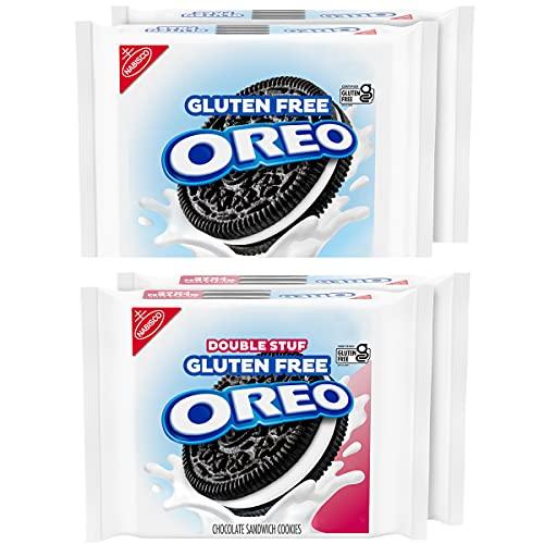 Oreo Original & Double Stuf Gluten Free Cookies Variety Pack, 4 Count