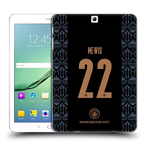 Official Manchester City Man City FC Sam Mewis 2020/21 Women's Away Kit Group 1 Hard Back Case Compatible for Samsung Galaxy Tab S2 9.7