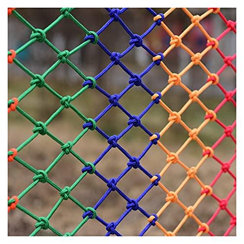Red De Protección Contra La Seguridad Anti-caída, Tamaño De Malla Personalizado 8x8cm, Orificio Nylon Rope Net Net Durable Red De Escalada Para Niños Balcón Stail Barrera Valla Cerca De La Red Red Col