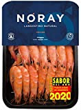 White Tiger NORAY Shrimp, COOKED, FRESH & never frozen, 40/60 pieces per kg, packed in 1kg box