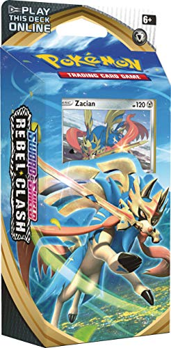 Pokemon TCG: Sword & Shield Rebel Clash Theme Deck Featuring Zacian