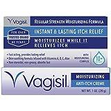 Vagisil Regular Strength Anti-Itch Feminine Crème for Women, Multicolor, 1 Ounce