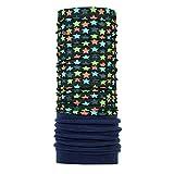 P.A.C. Kids Fleece Multifunktionstuch - Outdoortuch, Skituch, Halstuch, nachhaltiges Schlauchtuch, Schal, Kopftuch, Stirnband, verschiedenste Designs, für Kinder, viele Tragevarianten