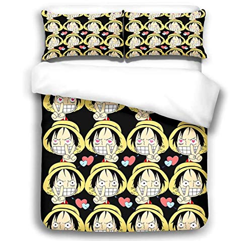 Nat999Lily Juego De Cama Temático Pirate King Ropa De Cama Infantil De Moda Fun Fundas Nórdicas De Microfibra Juego De 3 Piezas Textiles para El Hogar 240X260Cm Estilo 6