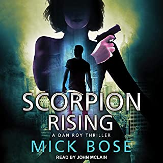 Scorpion Rising: A Dan Roy Thriller audiobook cover art
