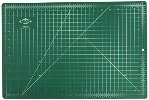 Alvin, Professional Self-Healing Cutting Mats, 12 x 18 Inches