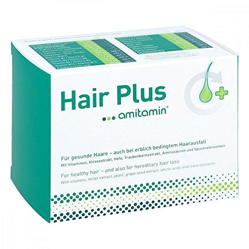 amitamin Hair Plus Kapseln für gesunde Haare, 60 St. Kapseln