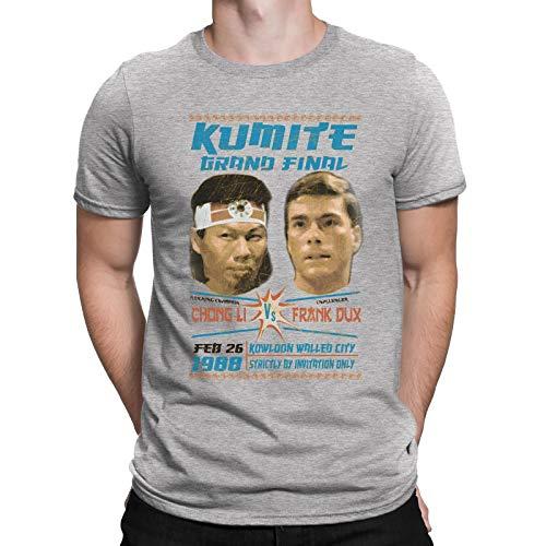 Jonny Cotton Kumite Grand Final Mens Movie Inspired t Shirt [Apparel] Grey