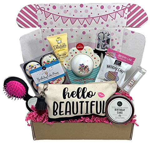 Women's Birthday Gift Box Set 9 Unique Surprise Gifts For Wife, Aunt, Mom, Girlfriend, Sister from Hey, It's Your Day Gift Box Co.