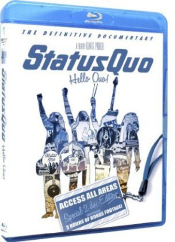 Status Quo - Hello Quo: Access All Areas Edition Blu-ray [Blu-ray] [Reino...