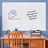 FATHEAD Dry Erase: Graph White Board-Large Removable Wall Decal, Multicolor