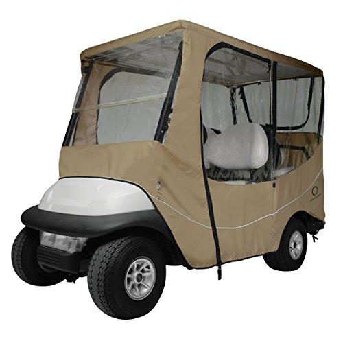 Classic Accessories de Parcours de Golf Cart Voyage boîtier, Mixte, Kaki