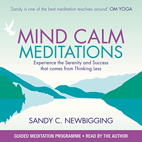 Mind Calm Meditations audiobook cover art