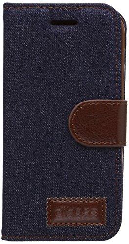 Apexel Retro Magnetisch Lederen Beschermende Folio Jean Patroon Hoesje Portemonnee met Credit Card Slot/Houder Gift Touch Pen voor Samsung, Samsung A3, Zwart