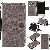 KKEIKO Huawei P9 Lite Case, Huawei P9 Lite Flip Leather