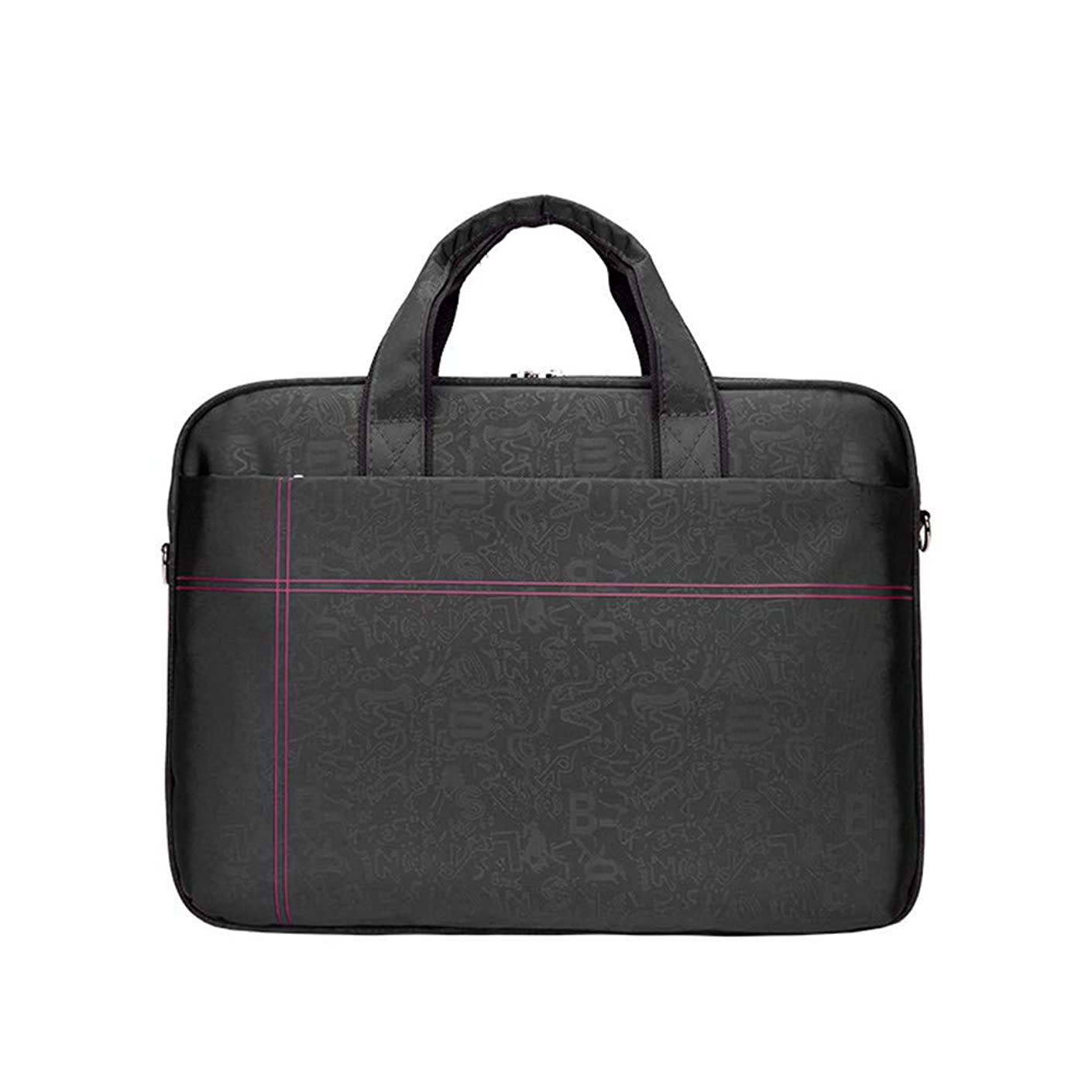 Zhouminli Vintage Leather Tote Briefcase Shockproof Waterproof Messenger Bag Shoulder Bag Laptop Bag 14