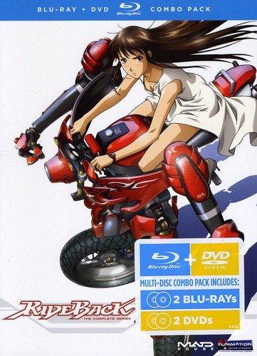 Rideback: Complete Series DVD/Blu-ray Combo (ライドバック 北米版) [Blu-ray]