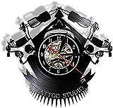 Vinilo Reloj de Pared Record Custom Vintage Tattoo Vinyl Custom Order Your Design Your Logo Your Image Custom Tattoo Vinyl Shop