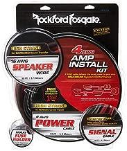 Rockford RFK4X 4 AWG Complete Amplifier Install Kit