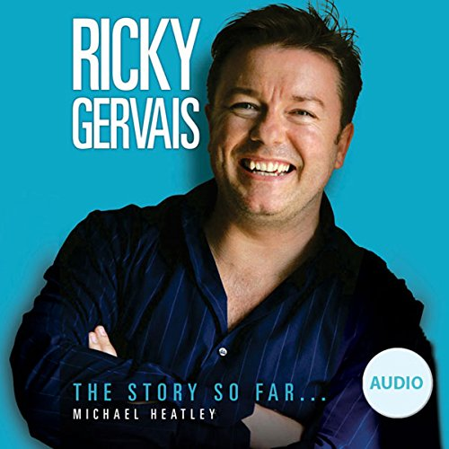 Ricky Gervais audiobook cover art