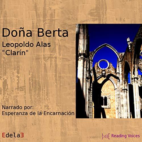 Diseño de la portada del título Doña Berta