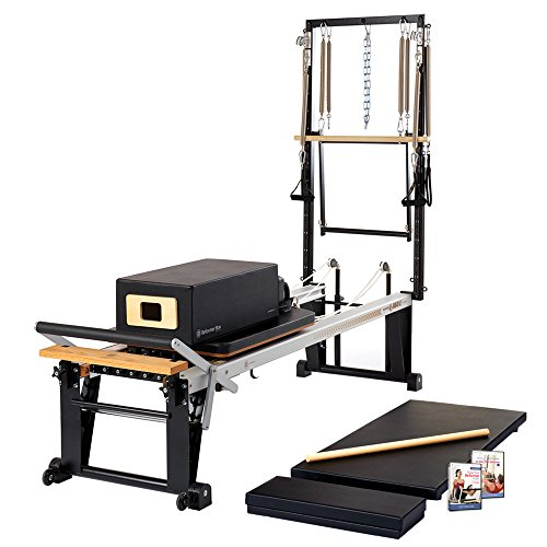 Merrithew Rehab V2 Max Plus Reformer Bundle, Black