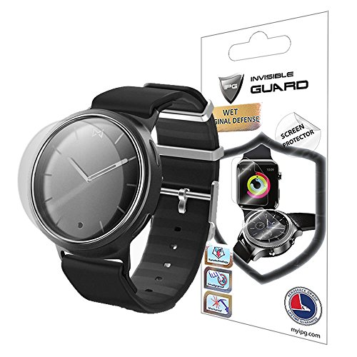 Misfit Phase Watch Screen Protector (2 Units) Invisible Ultra HD Clear Film Anti Scratch Skin Guard - Smooth/Self-Healing/Bubble -Free by IPG