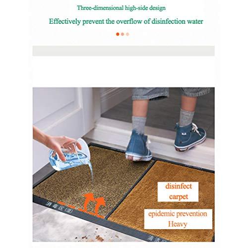 Felpudo de Entrada,Alfombrilla,Superabsorbente para Interiores,Felpudo Exterior,Alfombrillas Antideslizantes para el Hogar y el Hotel para Facilitar la Limpieza del Calzado