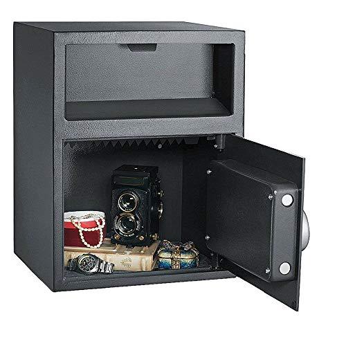 New Digital Safe Box Depository Drop Deposit Front Load Cash Vault Lock